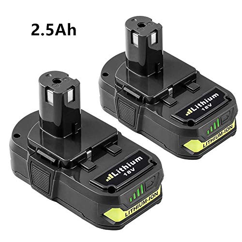 2 Pack P108 Replace for Ryobi 18V Battery Lithium for Ryobi One+ P102 P104 P105 P103 P107 Batteries (Oneplus One Battery Pack)