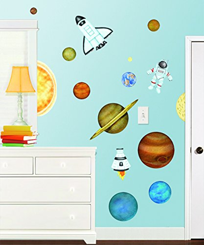 Borders Unlimited 10012 in Outer Space Super Jumbo (Jumbo Wall Appliques)
