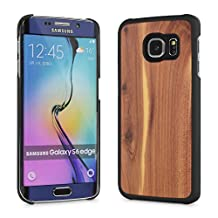 Cover-Up #WoodBack Real Wood Snap Case for Samsung Galaxy S6 Edge - (Cedar)