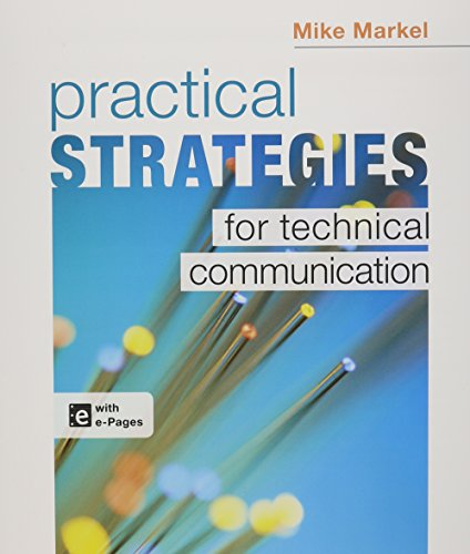 Practical Strategies for Technical Communication & Document-Based Cases in Technical Communications 2e