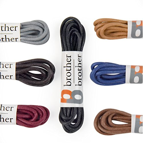 Brother Brother Colored Oxford Shoe Laces for Men (7 Pairs) (30'') by Brother Brother (Image #4)