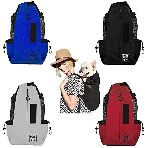 K9 Sport Sack AIR - The Original Dog Carrier Backpack (Small, Cobalt Blue)