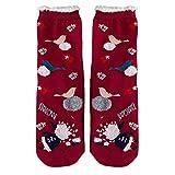 Goddessvan Women Girls Anti-Slip Fluffy Fuzzy Slipper Socks Cute Animals Warm Crew Socks for Christmas & Cold Weather
