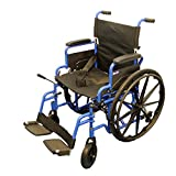 """Wheelchair 20"""" seat width, with flip back arms"""