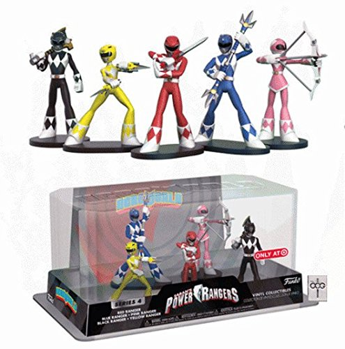 (Funko Hero World - Power Rangers [Series 4] - The Power Rangers [5 Pack] - Target Exclusive)