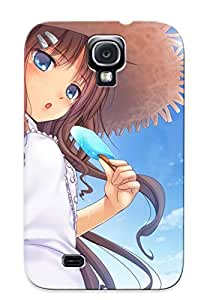 New Fashionable Extragrate HEyhlMW746wrcii Cover Case Specially Made For Galaxy S4(girl Having An Icecream )