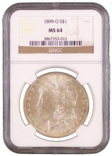 1899 O Morgan Dollar NGC MS-64