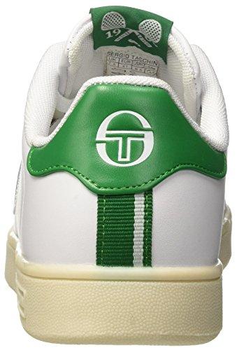 Tacchini Bianco Gran Collo Sergio Uomo Green Torino Basso White Sneaker a 7BdBxawS