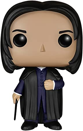 Figura de Severus Snape, de la serie Harry Potter,Cada personaje mide 9 cm de altura aproximadamente