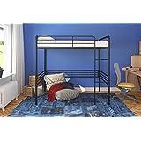 """DHP 4227029SET Black Metal Signature Sleep Memoir 6"""" Full Memory Foam Loft Bed and Mattress Set"""