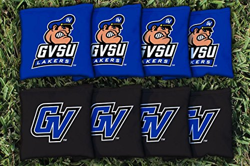 NCAA Replacement Corn Filled Cornhole Bag Set NCAA Team: Grand Valley (Valley Corn)