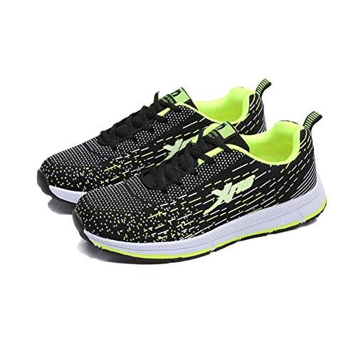 De Zapatos Casuales Green Senderismo Mujer Zapatillas De Malla Zapatos Zapatos Caminar Casuales para Zapatos Ligeros Zapatos dfAOxd