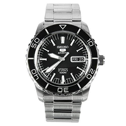 5 Japan Seiko (Seiko 5 SPORTS Automatic MADE IN JAPAN waterproof 330 feet Watch [SNZH55J1])