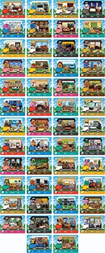 Animal Crossing Welcome Amiibo Complete Cards