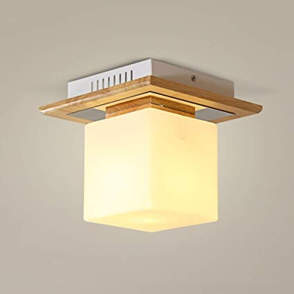 BAIF Lámparas de Techo Lámparas de Techo de Madera Maciza ...