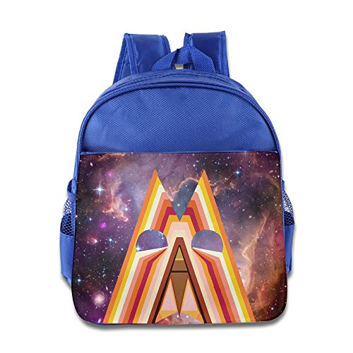 Auto Heart Build A Fire Kids Backpack School Bag For Boys/girls RoyalBlue