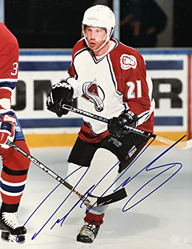 Peter Forsberg Signed 8x10 Photo Colorado Avalanche