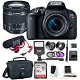Canon EOS Rebel T7i DSLR Camera Bundles (Video Creator Bundle)