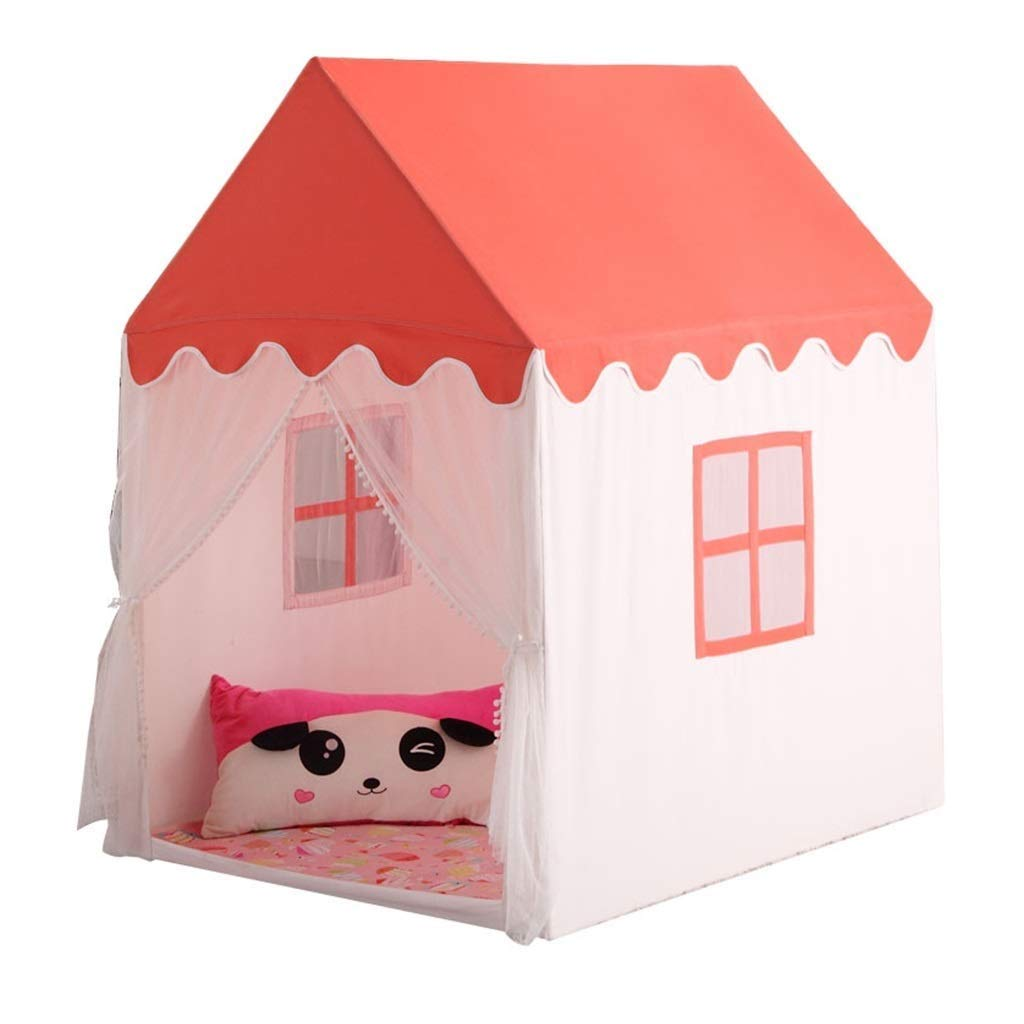 HLWAWA キッズテントキッズプレイキャッスルテント幼児子供プレイテントポップアップ女の子男の子テント用屋内屋外使用 B07TXDJPHM