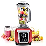 Cheap Smoothie Blender, POSAME 1500W Professional Blender with 76oz Tritan BPA-Free Jar, High Speed Blender for Shakes and Smoothies, 10-Speed Settings …