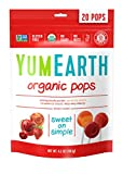 YumEarth Organic Lollipops, Assorted Flavors, 4.2 Oz Pouches, 6 Count