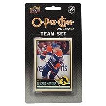 NHL Edmonton Oilers 2012/13 Upper Deck O-Pee-Chee Team Card Set, 17 Cards