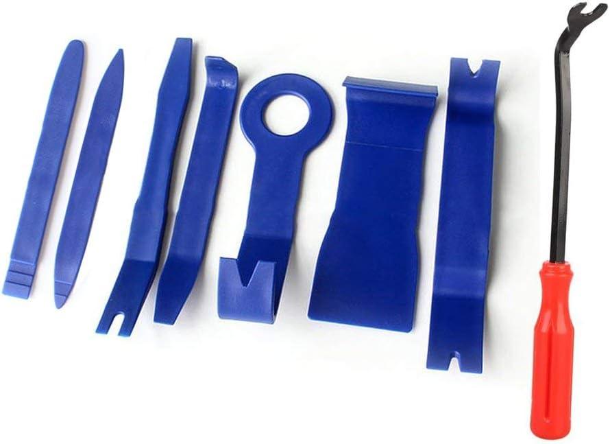 8 teile//satz Trim Removal Tool Set Hartplastik Auto Auto Innen Dash Radio Audio T/ür Clip Panel Trim /Öffnen Entfernung Werkzeuge