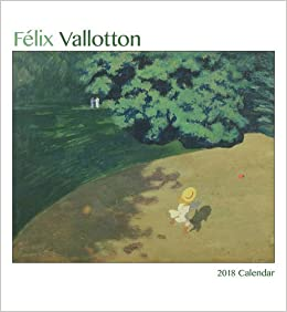 flix vallotton 2018 wall calendar