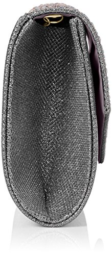 Women's Clutch Envelope Grey Grey Montary Diamante Clutch Bag SwankySwans Glitter qXdpwOX