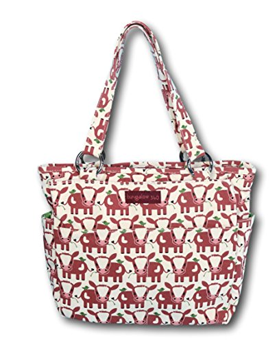 Bungalow 360 Pocket Bag Purse (Cow) by bungalow 360