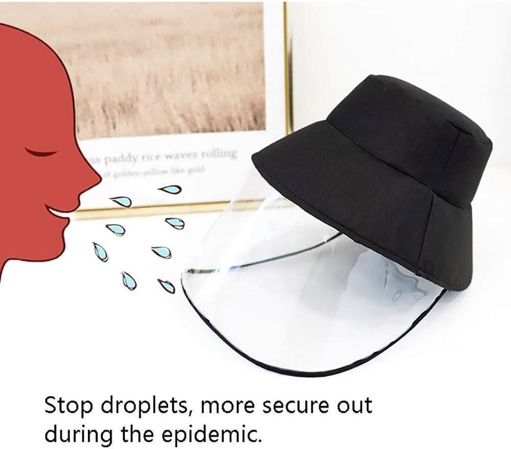 protecci/ón contra el polvo a prueba de viento JAMSI Gorra protectora de b/éisbol para protecci/ón antisalpicaduras sombrero de sol para mujeres y hombres protecci/ón de ojos y cabeza