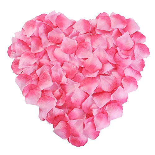 wonderfulwu 2000PCS Silk Rose Petals Artifical Flowers Wedding Decorations Bulk Supplies