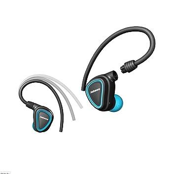 ERJI Auriculares inalámbricos Bluetooth V4.1 Auriculares estéreo Earhooks Auriculares de Fitness con Touchpad,
