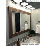 Renewed Dcor Shiplap Reclaimed Wood Mirror in 20 stain colors - Large Wall  Mirror - Rustic