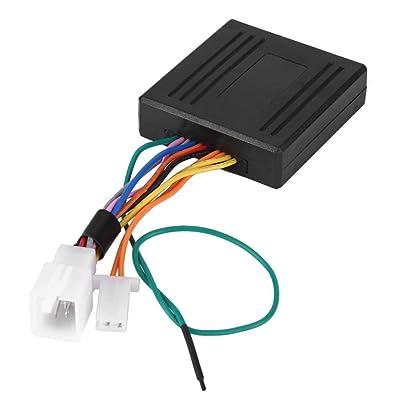 Alarme Rappel /à Ressort de Verrouillage de S/écurit/é pour Moto Scooter Orange C/âble de Rappel dAntivol Keenso 3.5MM C/âble de S/écurit/é C/âble Cadenas /à Disque