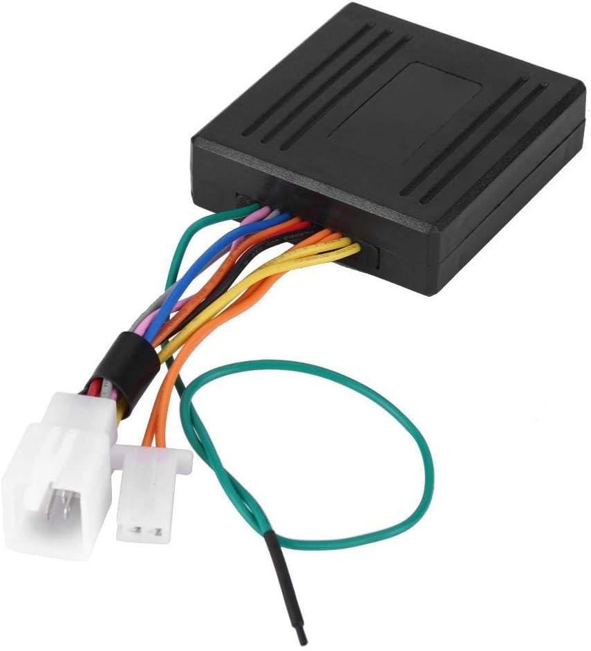Sistema de alarma de seguridad antirrobo para motocicletas de 12 voltios con doble control remoto