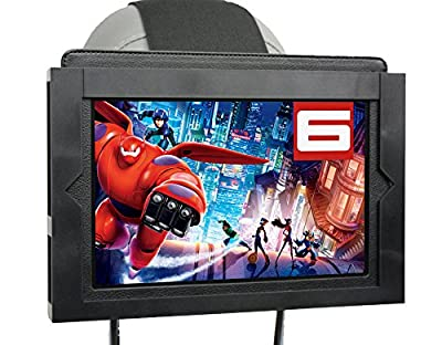Universal Table Holder Car Headrest Mount Keeps Tablet and Case Safe From Kids. Fits All iPads, Samsung Tablets and Many More. by WestCorp