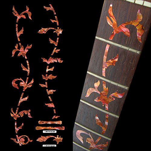 Fretboard Markers Inlay Sticker Decals for Guitar - Tree Of Life-AR