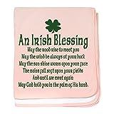 CafePress - Irish Blessing Infant Blanket - Baby Blanket, Super Soft Newborn Swaddle