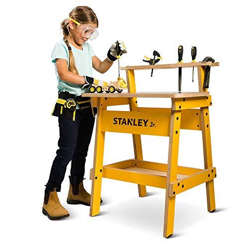 Hammacher Schlemmer The Stanley Apprentice Workshop with 8 Piece Tool Kit ()