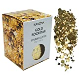 Gold Rockstar Chunky Glitter ✮Large 30g Jar COSMETIC GLITTER ✮ Festival Face Body Hair Nails