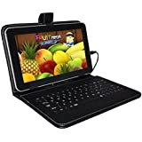 Ikall N4 Tablet with Keyboard (7 inch, 8GB, WiFi + 4G LTE + Voice Calling), Black