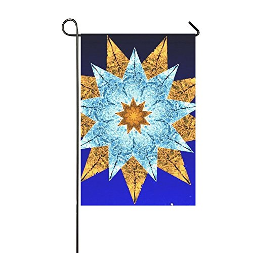 Home Decorative Outdoor Double Sided Star Christmas Advent Poinsettia Christmas Time Garden Flag,house Yard Flag,garden Yard Decorations,seasonal Welcome Outdoor Flag 12 X 18 Inch Spring Summer Gift