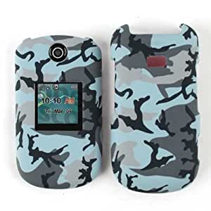 Cell Armor Slim Line Case Samsung Chrono 2, Contour 2, R270 Case Texture Hard Cover (Camouflage, Blue) Metro Pcs, U.S Cellular by runtopwell