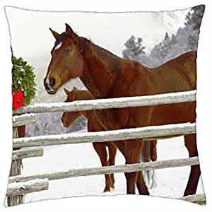 Christmas... - Throw Pillow Cover Case (18
