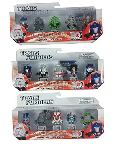 Transformers 30th Anniversary Mini-figure Wave 1 Complete Set of 15