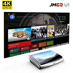 JmGO U1 Laser Home Theater Smart TV Projector For each machine, we all open the pack final test and setup it perfect before we ships it out. No any quality issues. Ships from China by DHL. As normal 3~7 days arrived. No including the custom d...