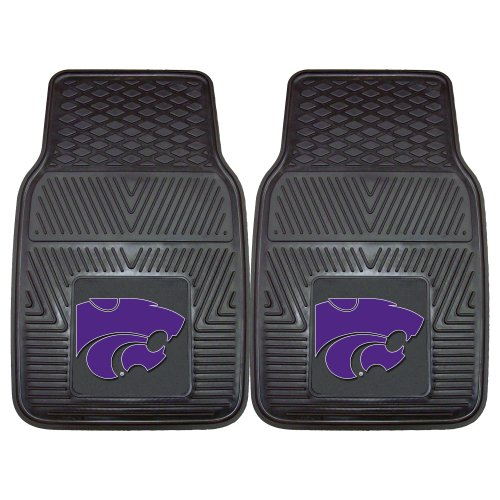 FANMATS NCAA Kansas State University Wildcats Vinyl Heavy Duty Car Mat