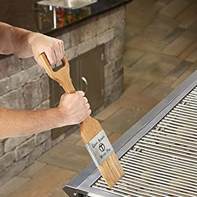 Wood Grill Scraper - Perfect BBQ Accessory For Cleaning Any Grill, Made in USA, Choose from 3 styles and 2 sizes from Thompson Brothers & Company