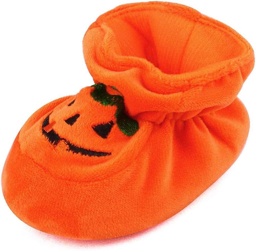 TENDYCOCO Halloween k/ürbis Booties s/äuglingsbaby rutschfeste Schuhe neugeborenen krippe Schuhe k/ürbis Prewalker weiche Sohle Schuhe f/ür Kleinkinder Kinder Kinder 10 cm